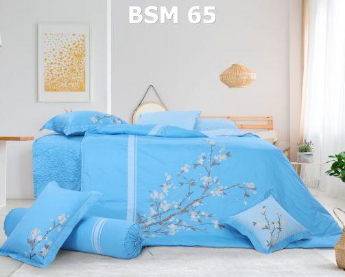 Bộ chăn ga gối Bsm 65 Blue Sky Hanvico