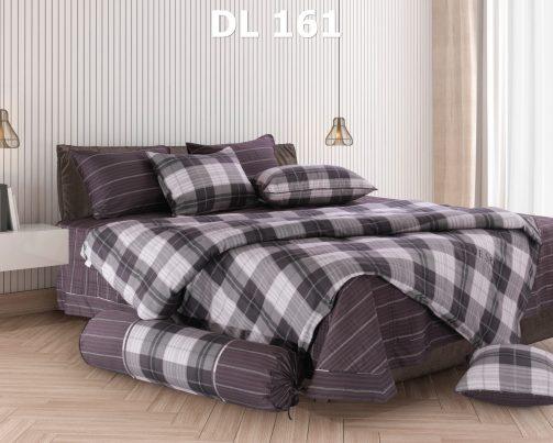 Bộ chăn ga gối Dl161 100% cotton T Hanvico